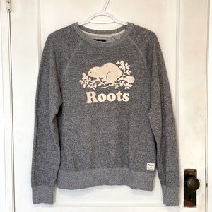 Grey Roots Crewneck Sweater